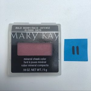 Mary Kay Mineral Cheek Color Bold Berry NEW